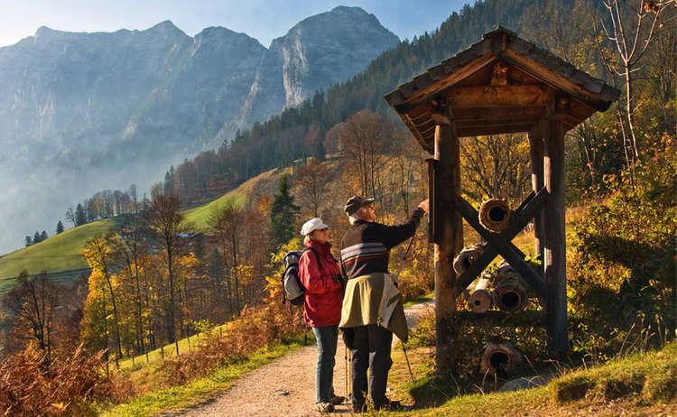 Soleleitung Bergsteigerdorf Ramsau