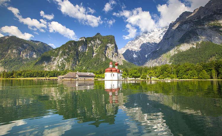 St Bartholomae Koenigssee Wandern Bayern