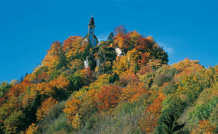 St Pankraz Bad Reichenhall Herbst