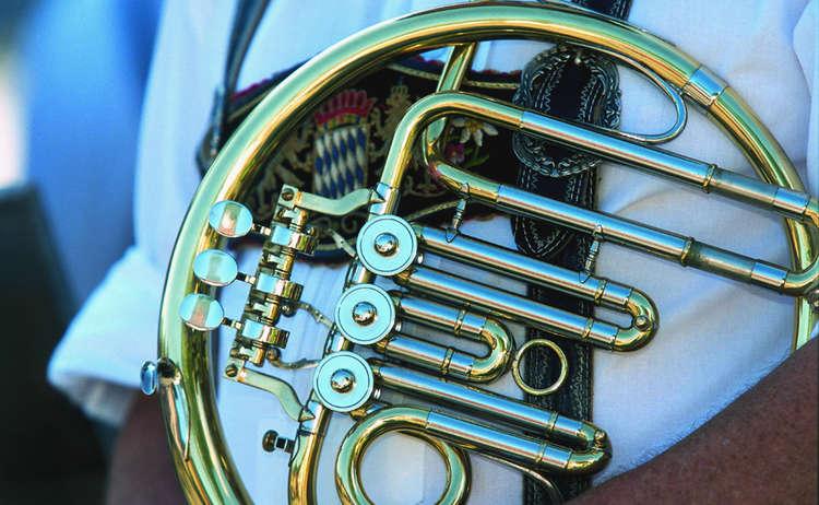 Waldhorn Blechblasinstrument