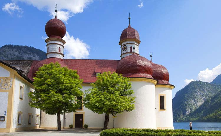 Wallfahrtskirche St Bartholomae Wandern Bayern