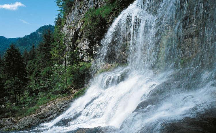 Wasserfall Weissbachschlucht