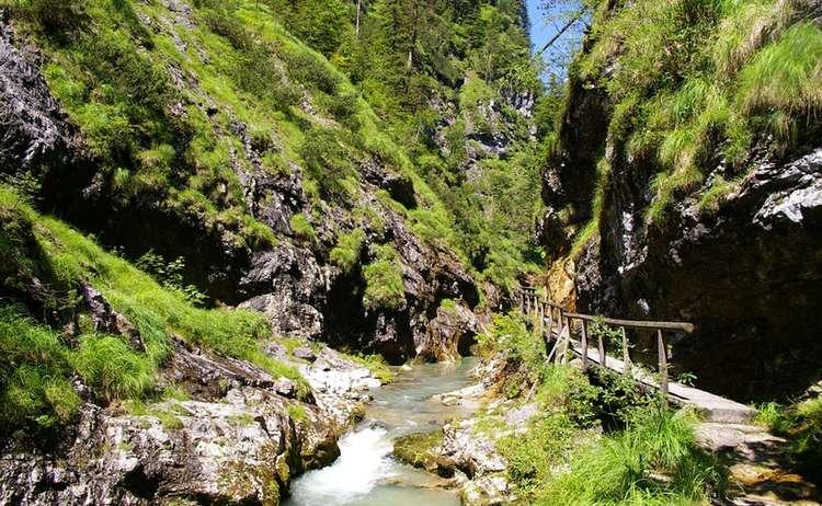 Weissbachschlucht In Schneizlreuth