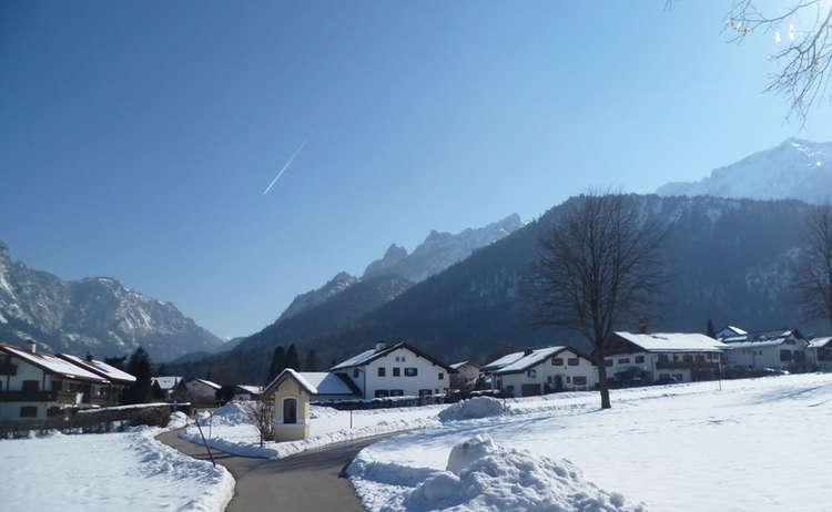 Winter In Bayerisch Gmain 1