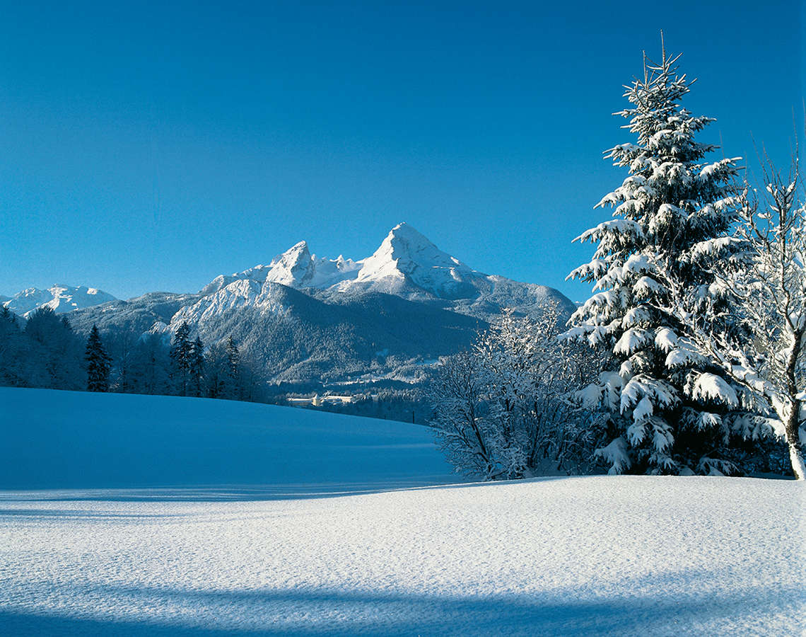 Winter Nationalpark Berchtesgaden