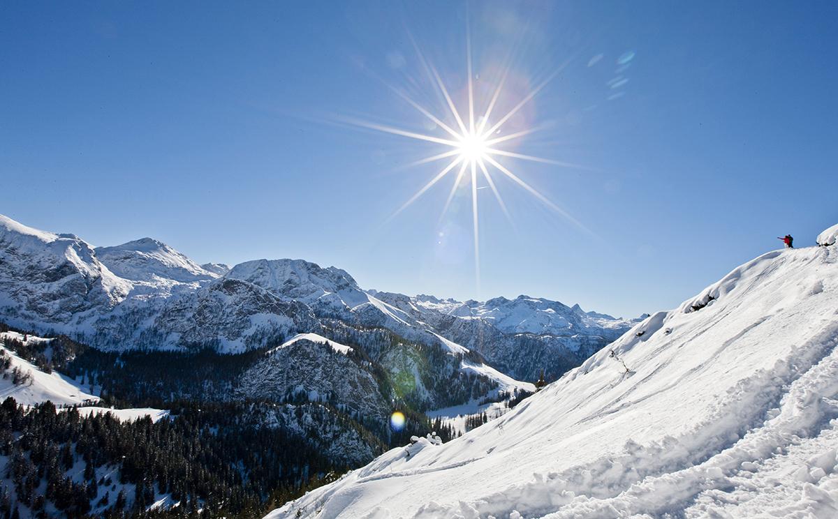 Berchtesgadener Land Winter Outdoor Tage 2015