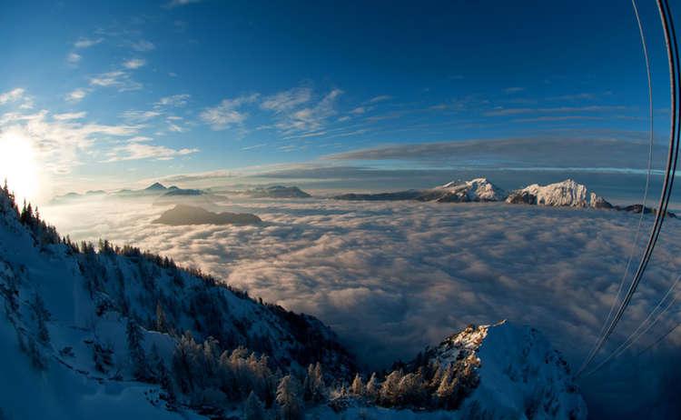 Winter Predigtstuhlbahn