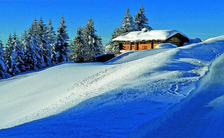 Winterromantik Perlerkaser Berchtesgaden