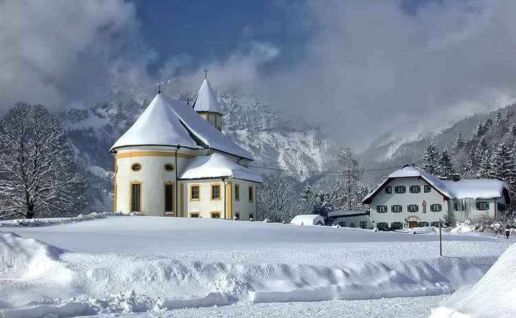 Winterwandern Ettenberg Marktschellenberg Untersberg Winter