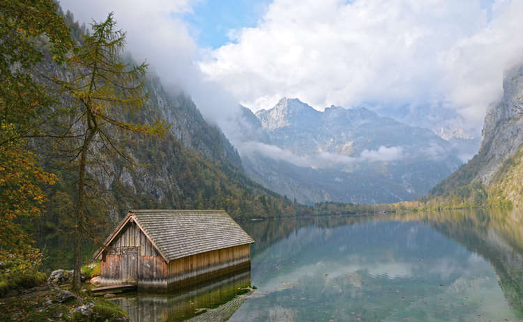Bootshuette Am Obersee