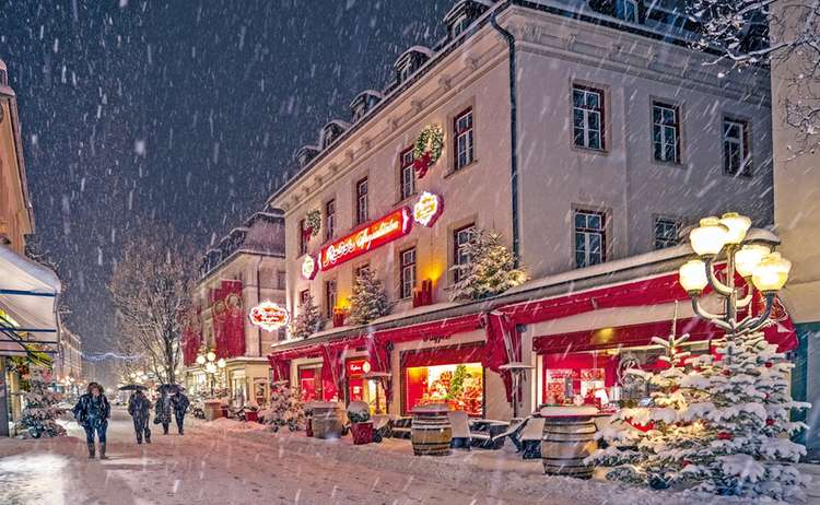 Cafe Reber Winter