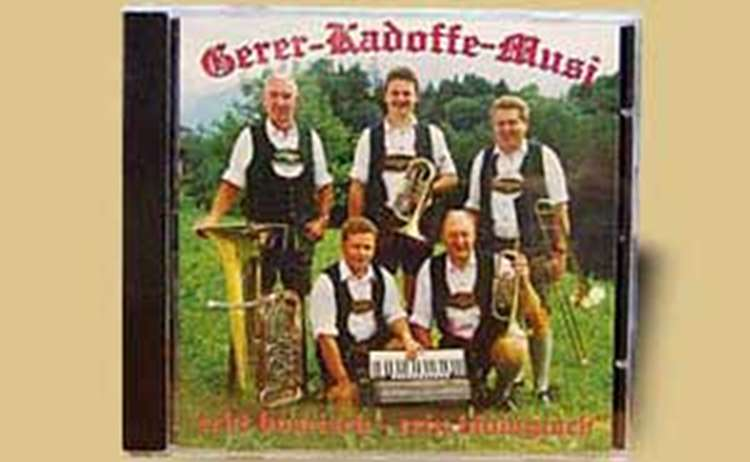 Gerer Kadoffe - CD Cover