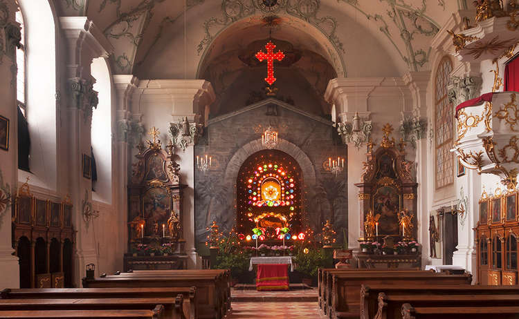 Heiliges Grab Kirche Hoeglwoerth Anger Rupertinwinkel