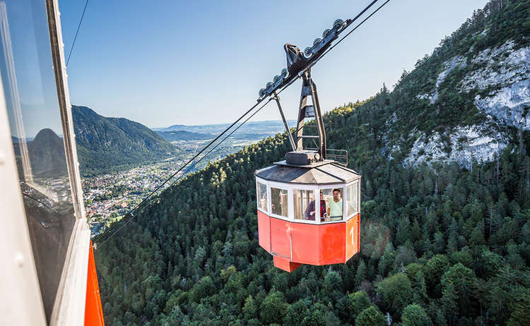 Predigtstuhl Cable Car Alpin Town Bad Reichenhall